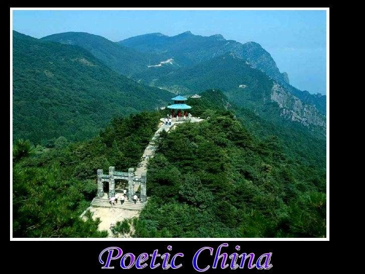 Poetic China  詩意中國