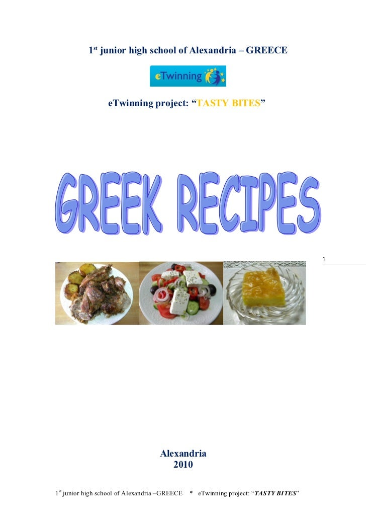 a delicious Greek traditional dish                                  INGREDIENTS For pastitsio we need                     ...