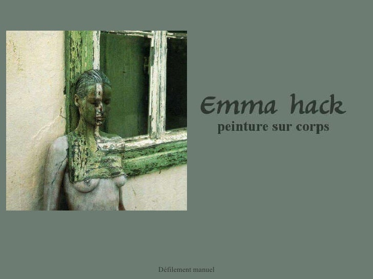Défilement manuel