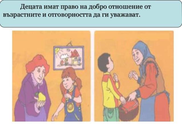 В презентацията са използвани слайдове от презентация свалена от сайта: За правата и отговорностите на децата Ви разказаха...