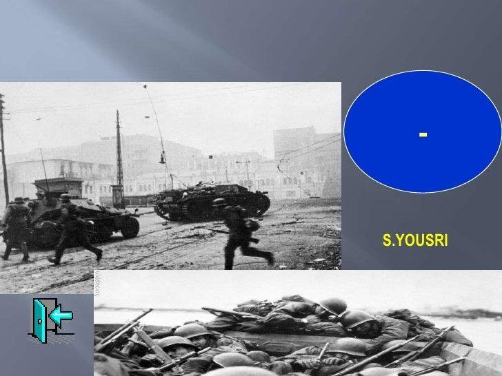 الحرب العالمية الثانية 1939 - 1945 S.YOUSRI