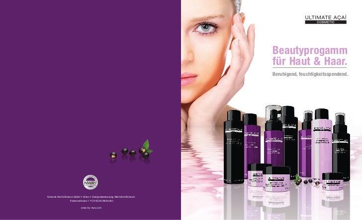 Beautyprogamm                                                                              für Haut & Haar.               ...