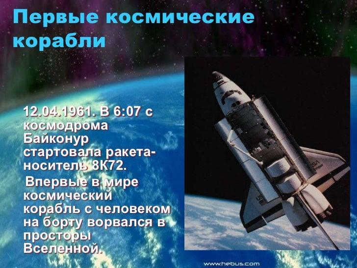 День космонавтики Slide 3