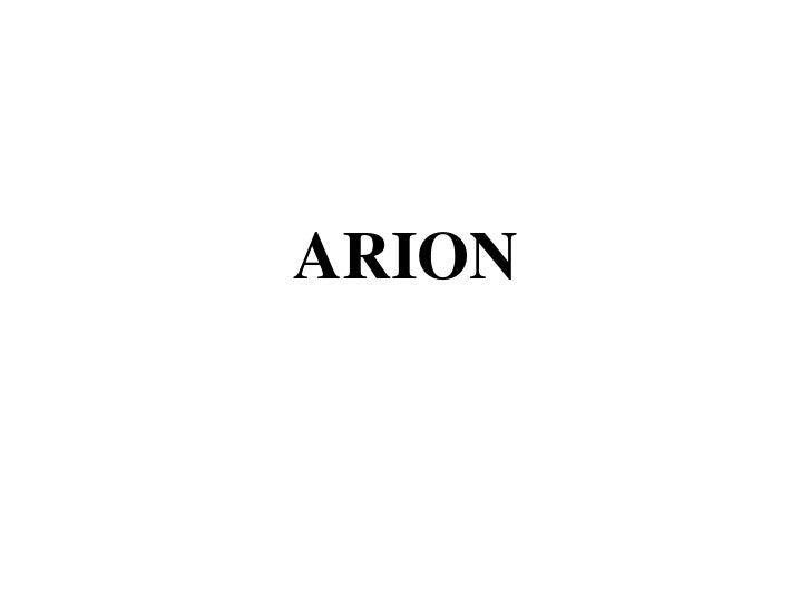 ARION<br />