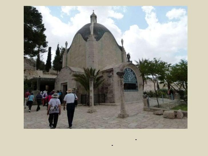 """כנסיית """"האדון בכה"""", נבנתה ב-1955 ע""""י האדריכל האיטלקי אנטוניו ברלוצי, <br />על חורבותיה של כנסייה ביזנטית מהמאה ה-7.<br />ל..."""