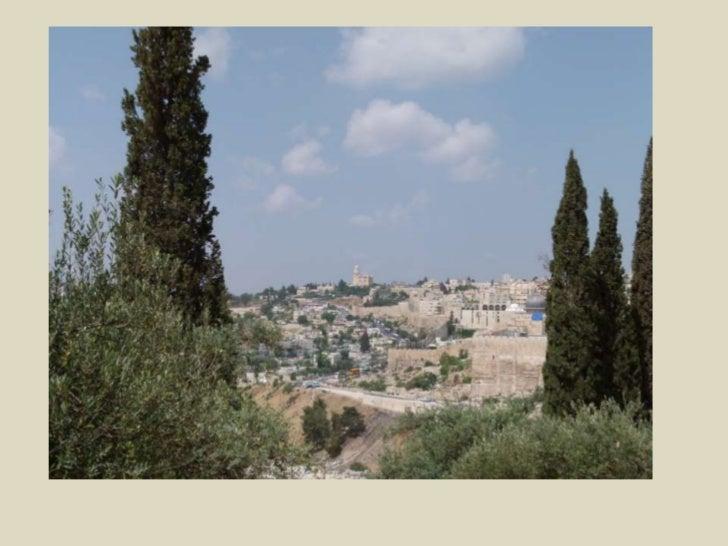"""מכנסיית """"האדון בכה"""" תצפית נהדרת על ירושלים.<br />"""