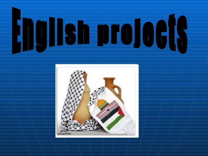 English projects
