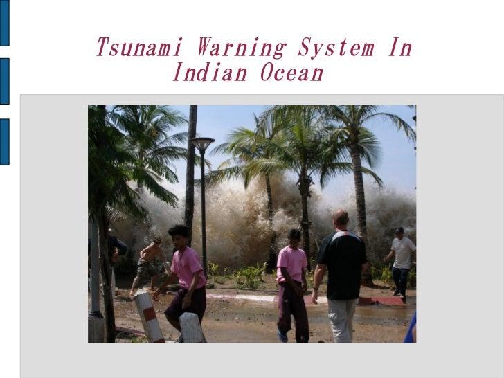 Tsunami Warning System In      Indian Ocean