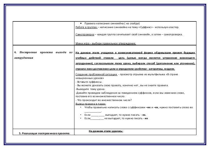 Психологический самоанализ урока образец пример Методическая разработка по математике подготовительная группа по теме Формирование Пример отчета по педагогической практике Тема Схема самоанализа урока