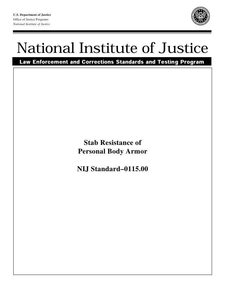 U.S. Department of JusticeOffice of Justice ProgramsNational Institute of Justice  National Institute of Justice    Law En...