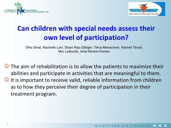 <ul><li>The aim of rehabilitation is to allow the patients to maximize their abilities and participate in activities that ...