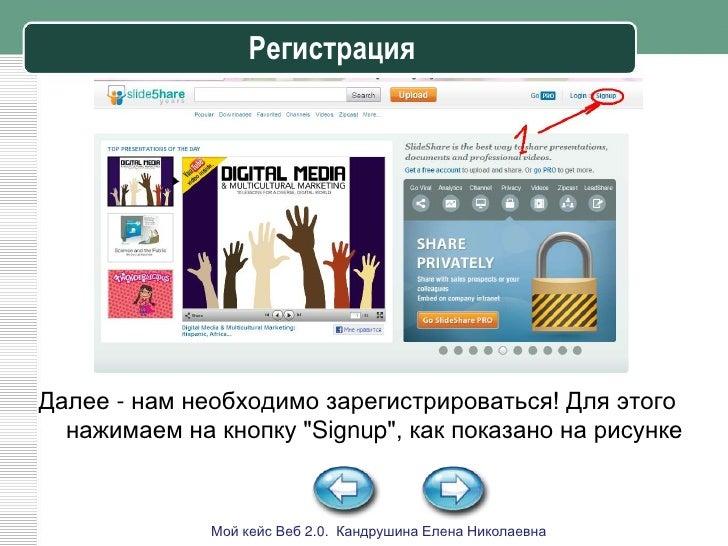 Изучаем сервис Slideshare Slide 3