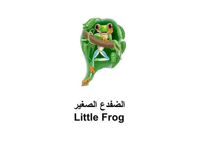 الضفدع الصغير Little Frog