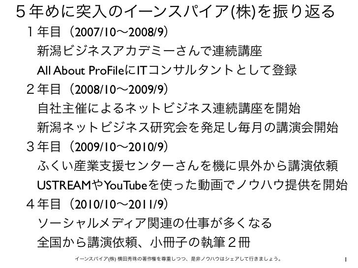 2007/10 2008/9All About ProFile IT       2008/10 2009/9      2009/10 2010/9USTREAM YouTube      2010/10 2011/9           (...
