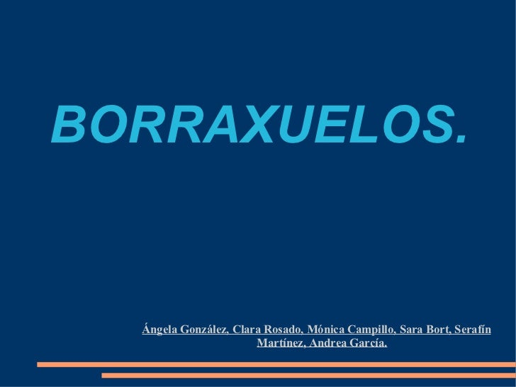 BORRAXUELOS. Ángela González, Clara Rosado, Mónica Campillo, Sara Bort, Serafín Martínez, Andrea García.