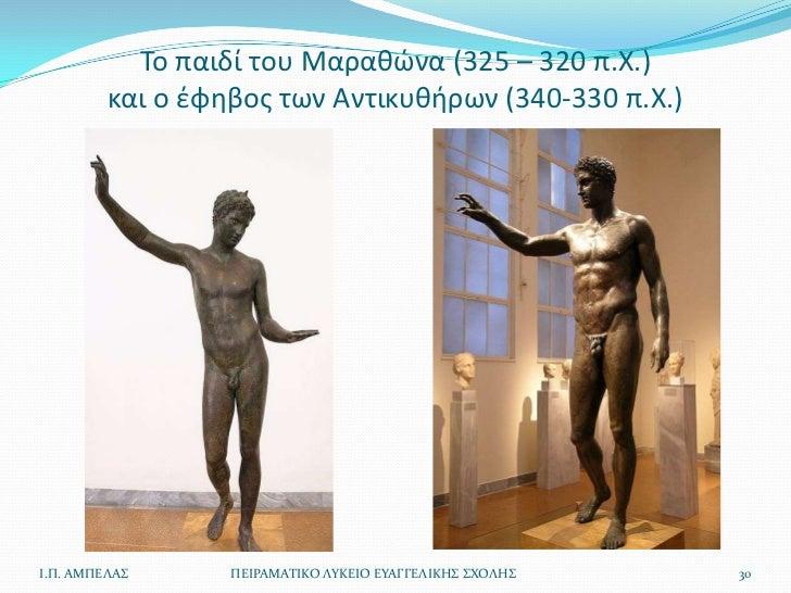 Το παιδί του Μαρακϊνα (325 – 320 π.Χ.)         και ο ζφθβοσ των Αντικυκιρων (340-330 π.Χ.)Ι.Π. ΑΜΠΕΛΑ      ΠΕΙΡΑΜΑΣΙΚΟ ΛΤ...