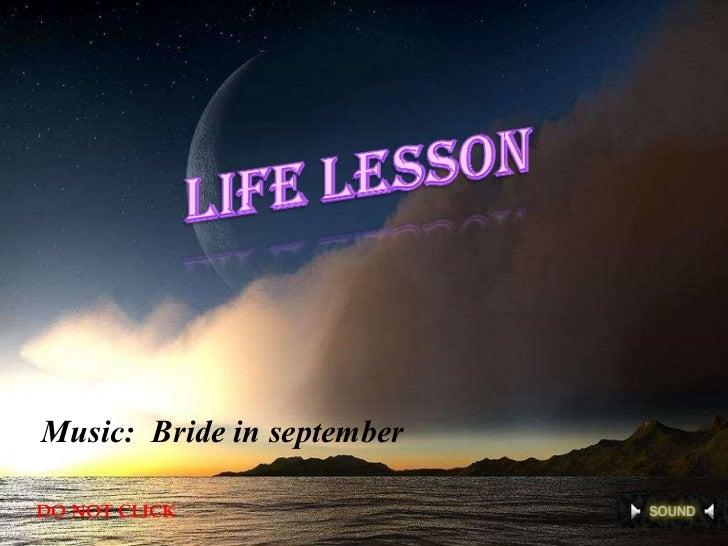 Music:  Bride in september DO NOT CLICK