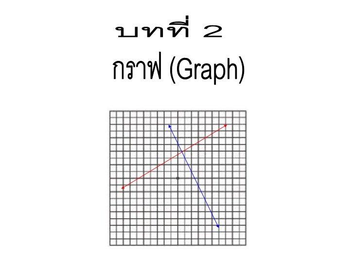แกนของกราฟ ประกอบด้วยแกน 2 แกนตั้งฉากกัน คือ                       แกนนอน เรียกว่า แกน x         y                       แ...