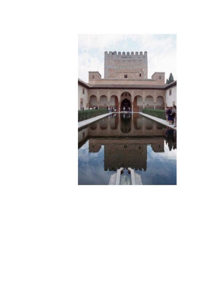 بعض الزخارف الموجودة على جدران القصر