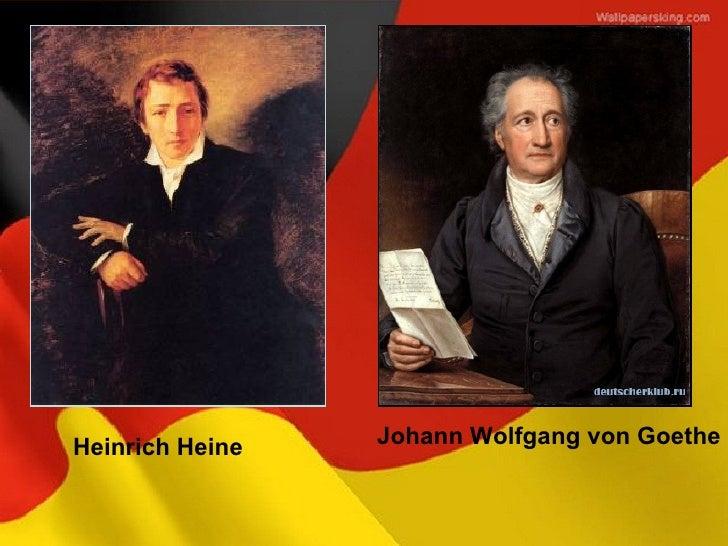 Heinrich Heine   Johann Wolfgang von Goethe