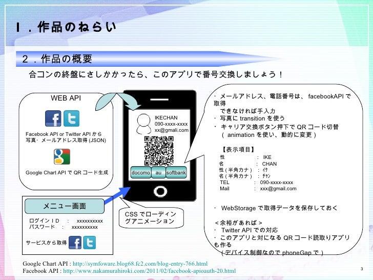 スマホアプリ企画書 Slide 3