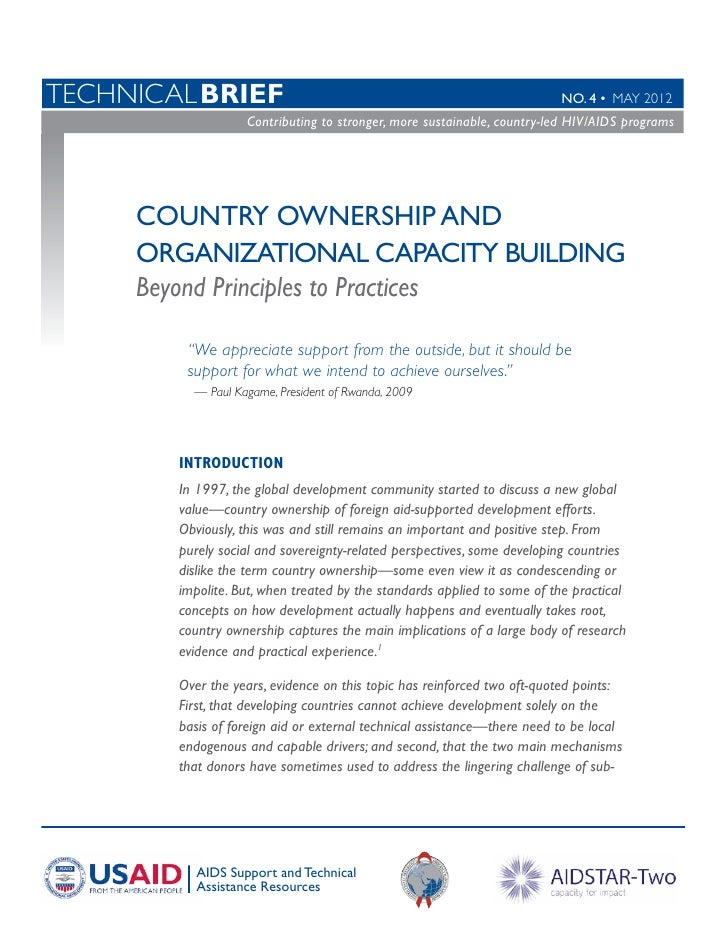 TechnicalBRIEF                                                           No. 4 • MAY 2012                    Contributing...