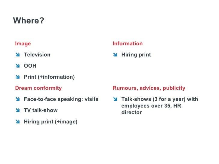 Коммуникационная стратегия   1) Определениеконтекста, ситуаций во      времени и пространстве, когда аудитория наиболее   ...