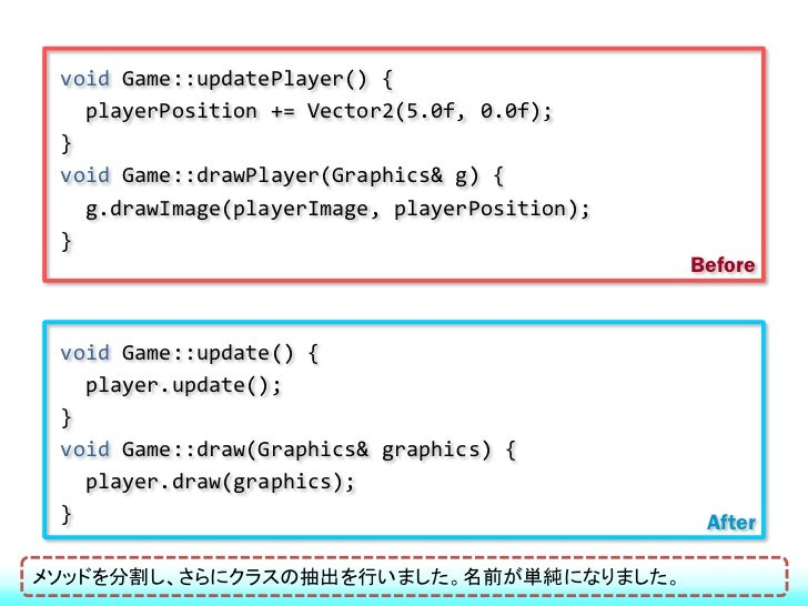 ファーストクラスコレクション vector、listなども基本型としてラップする クラスにはコレクションを1つだけ持たせる もちろん配列も対象になる汎用のコレクションクラスもプリミティブ型と同様に扱うという意図です。