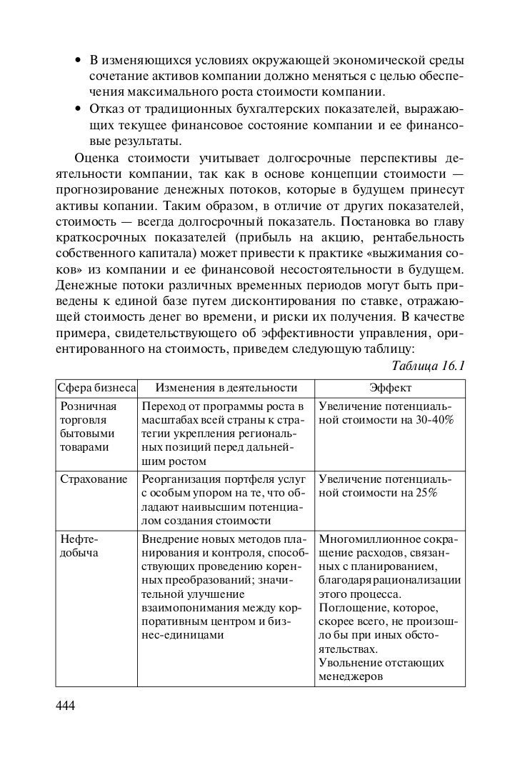 учебник оценка бизнеса