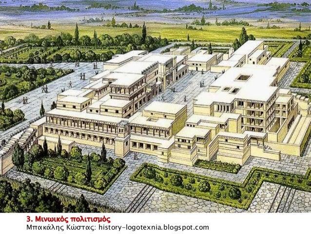 3. Μινωικός πολιτισμός  Μπακάλης Κώστας: history-logotexnia.blogspot.com