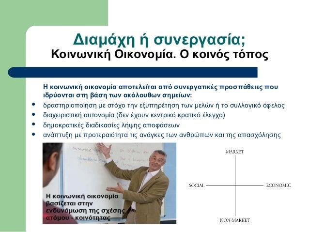 κοινωνική επιχειρηματικότητα, μύθος ή πραγματικότητα Slide 3