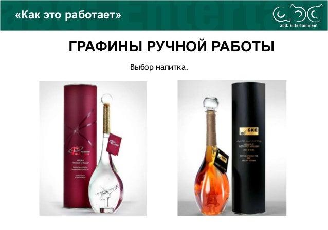 Выбор напитка. ГРАФИНЫ РУЧНОЙ РАБОТЫ «Как это работает»