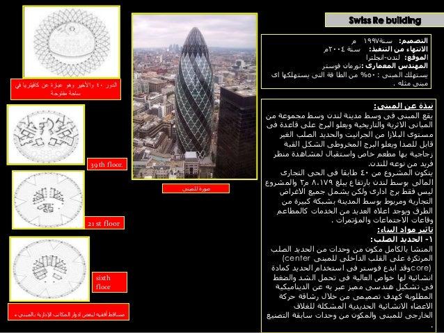 2- الخرسانة المسلحة :                                   استخدمت الخرسانة المسلحة فى بالطات االدوار المتكررة           ...
