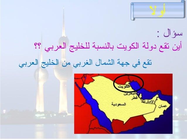 الملامح الجغرافية للكويت