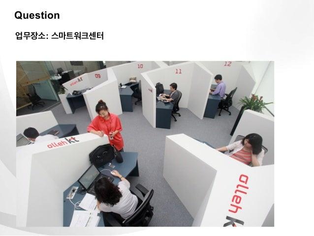 Question업무장소: 스마트워크센터