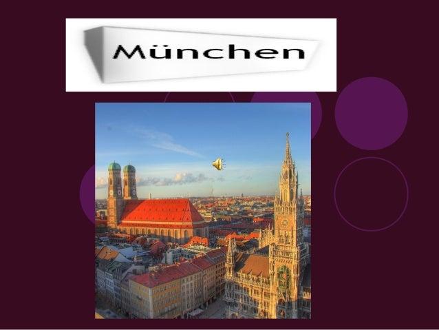  München   liegt im Süden Deutschlands. Das ist das politische, administrative und kulturelle Zentrum des Landes Bayern.