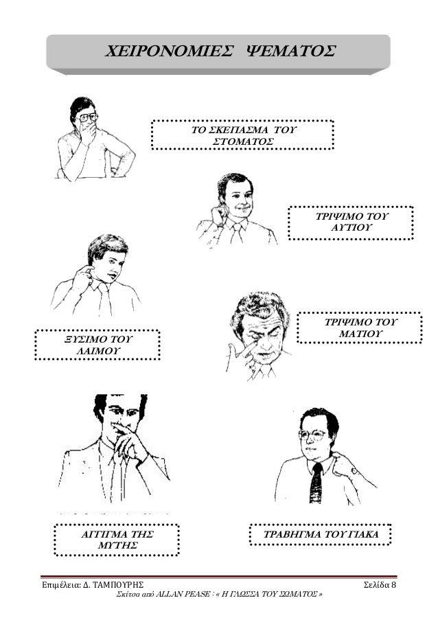 Συμβουλές για τη γλώσσα του σώματος