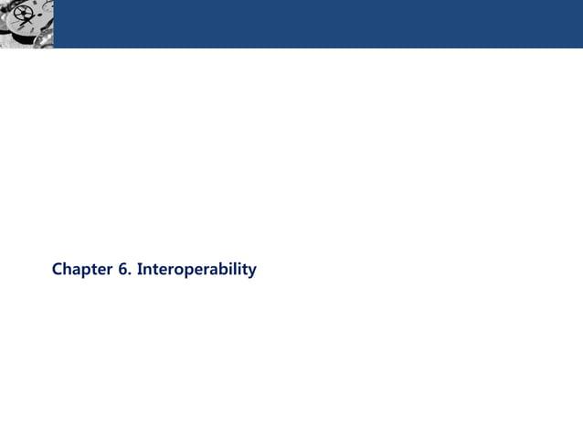 Chapter 6. Interoperability