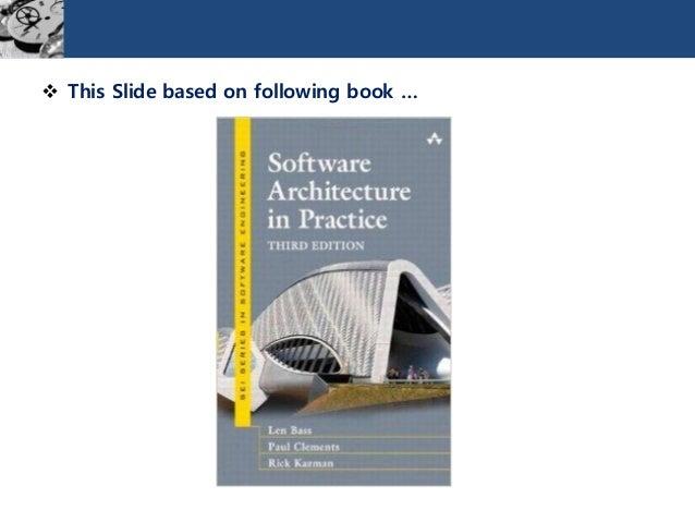 소프트웨어 아키텍처 Slide 2