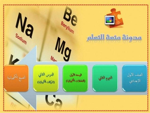 الرموز والصيغ الكيميائية
