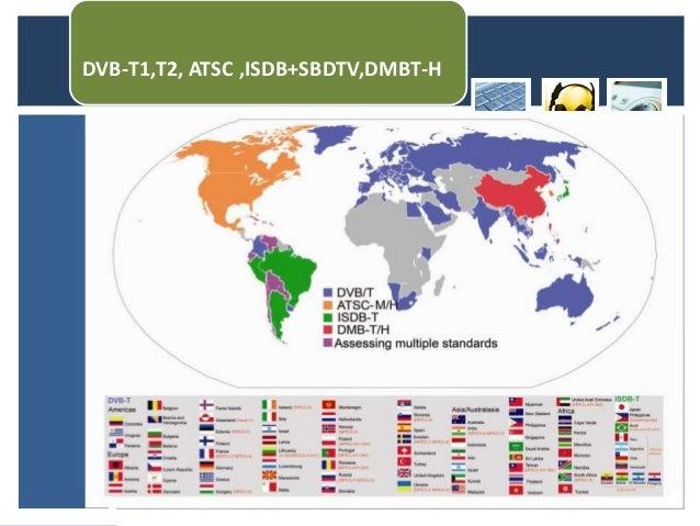 DVB-T1,T2, ATSC ,ISDB+SBDTV,DMBT-H