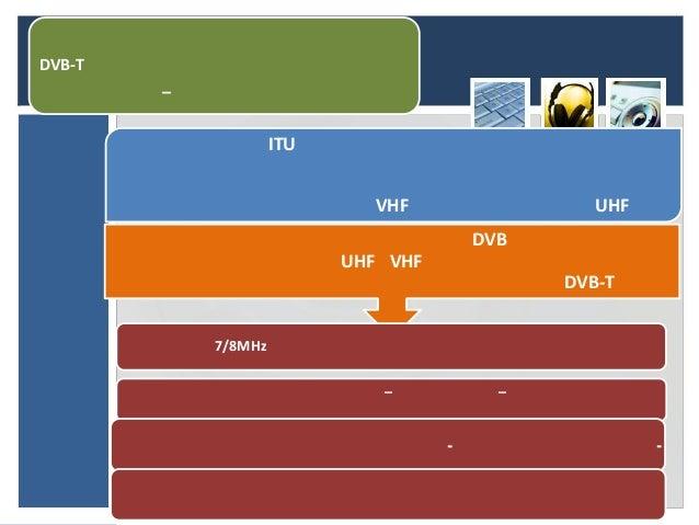 DVB-T        –                     ITU                             VHF                  UHF                               ...