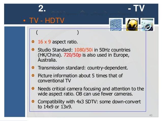 2.                                               - TV• TV - DTT / HDTV Chart 1: World-wide, DTT/ HDTV Transmission    Econ...