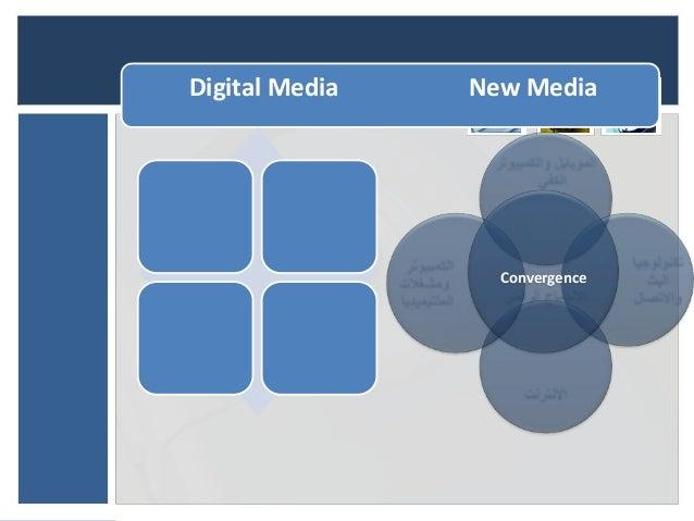 Digital Media   New Media                  Convergence