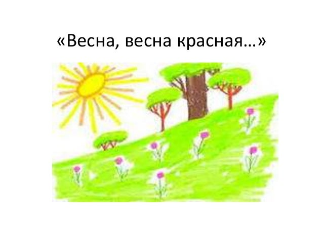 «Весна, весна красная…»