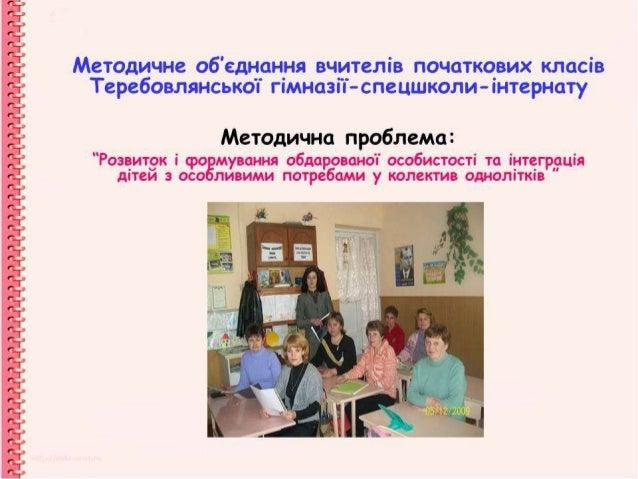 звіт   початкові класи