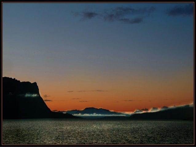 美麗的挪威海岸線