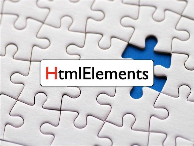HtmlElements