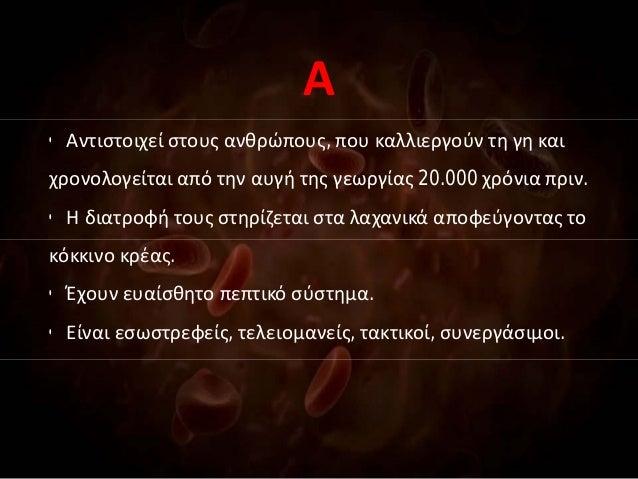 Τύπος αίματος που χρονολογείται