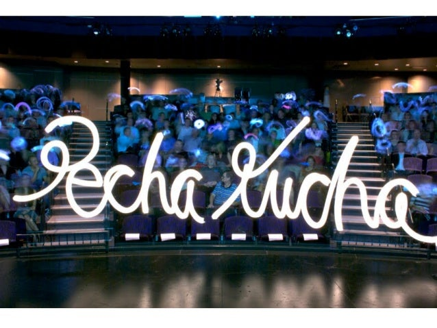 Что точно должно быть в формате PechaKucha?